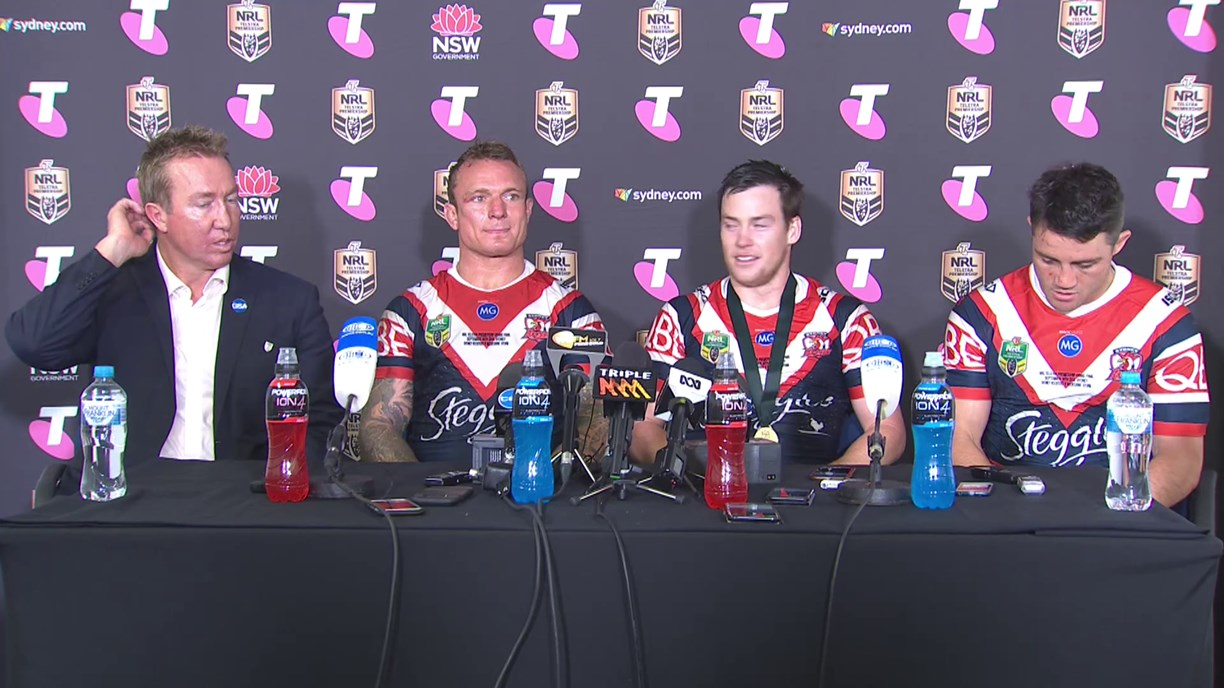 Roosters press conference: Grand Final