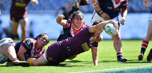 Match Highlights: Broncos v Roosters -NRLW Grand Final - 2018