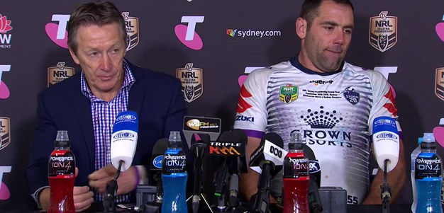 Storm press conference: Grand Final