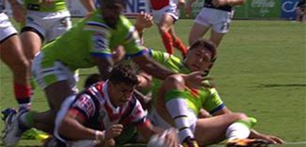 Full Match Replay: Canberra Raiders v Sydney Roosters (1st Half) - Round 2, 2016