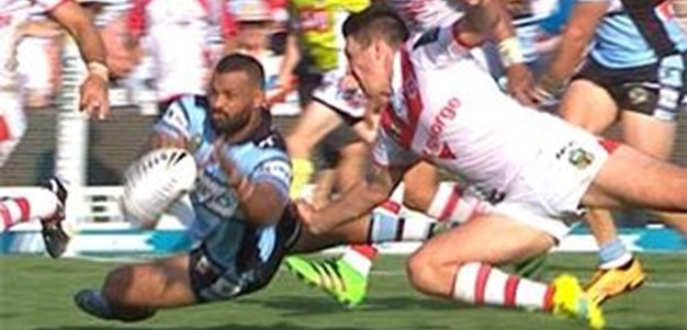 Full Match Replay: Cronulla-Sutherland Sharks v St George-Illawarra Dragons (2nd Half) - Round 2, 2016