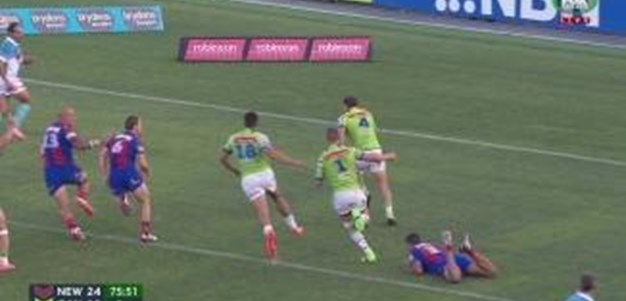 Rd 3: TRY Brenko Lee (76th min)