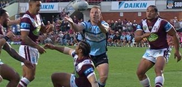 Full Match Replay: Manly-Warringah Sea Eagles v Cronulla-Sutherland Sharks (1st Half) - Round 3, 2016