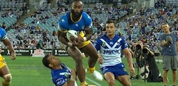 Full Match Replay: Canterbury-Bankstown Bulldogs v Parramatta Eels (1st Half) - Round 3, 2016