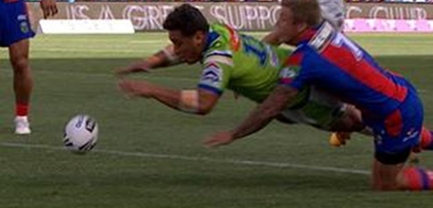 Full Match Replay: Newcastle Knights v Canberra Raiders (1st Half) - Round 3, 2016