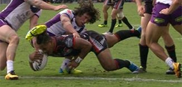 Full Match Replay: Warriors v Melbourne Storm (2nd Half) - Round 3, 2016