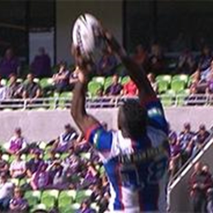 Full Match Replay: Melbourne Storm v Newcastle Knights (1st Half) - Round 5, 2016