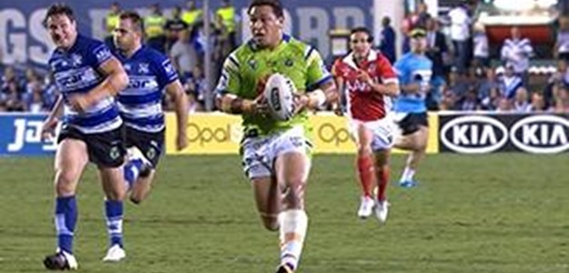 Full Match Replay: Canterbury-Bankstown Bulldogs v Canberra Raiders (1st Half) - Round 5, 2016