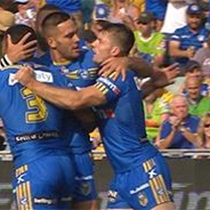 Full Match Replay: Parramatta Eels v Canberra Raiders (1st Half) - Round 6, 2016