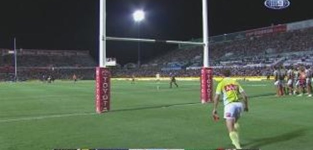 Rd 7: GOAL Johnathan Thurston (6th min)