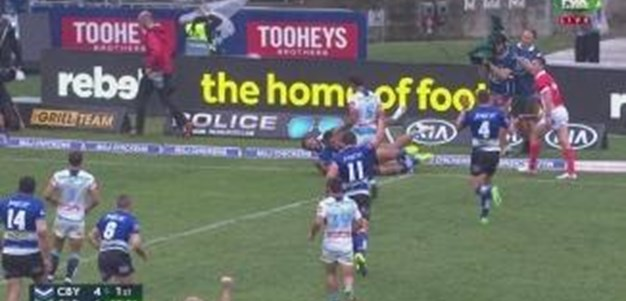 Rd 8: TRY Sam Perrett (24th min)