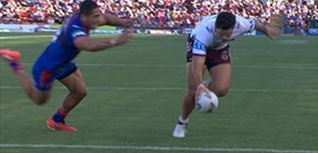 Full Match Replay: Newcastle Knights v Manly-Warringah Sea Eagles (2nd Half) - Round 8, 2016