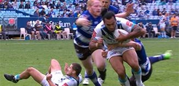 Full Match Replay: Canterbury-Bankstown Bulldogs v Gold Coast Titans (1st Half) - Round 8, 2016
