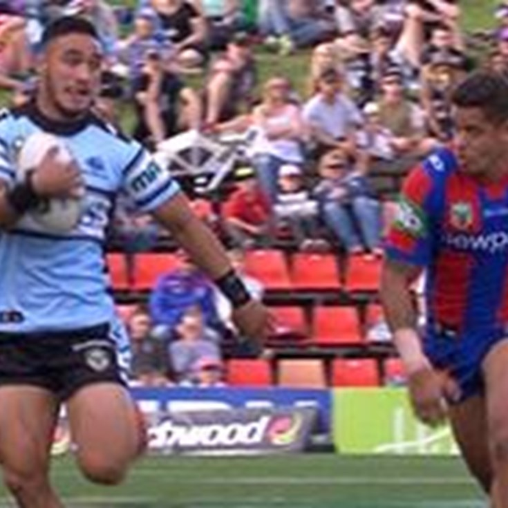 Full Match Replay: Newcastle Knights v Cronulla-Sutherland Sharks (2nd Half) - Round 10, 2016