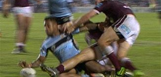 Full Match Replay: Cronulla-Sutherland Sharks v Manly-Warringah Sea Eagles (2nd Half) - Round 11, 2016
