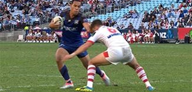 Full Match Replay: St George-Illawarra Dragons v Canterbury-Bankstown Bulldogs (1st Half) - Round 14, 2016