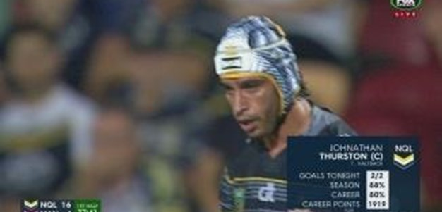 Rd 16: GOAL Johnathan Thurston (38th min)