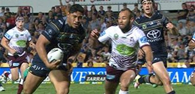 Full Match Replay: North Queensland Cowboys v Manly-Warringah Sea Eagles (1st Half) - Round 16, 2016
