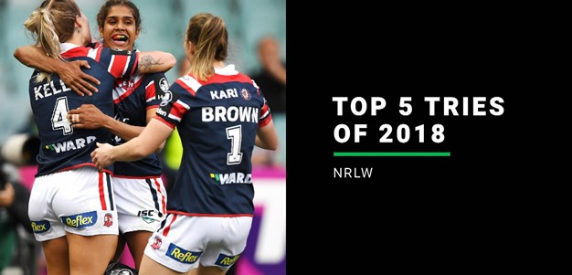 NRLW top five tries of 2018