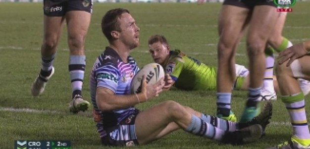 Rd 22: TRY James Maloney (17th min)