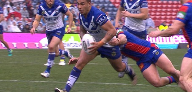 Full Match Replay: Newcastle Knights v Canterbury-Bankstown Bulldogs (1st Half) - Round 22, 2016