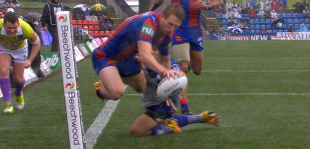 Full Match Replay: Newcastle Knights v Canterbury-Bankstown Bulldogs (2nd Half) - Round 22, 2016