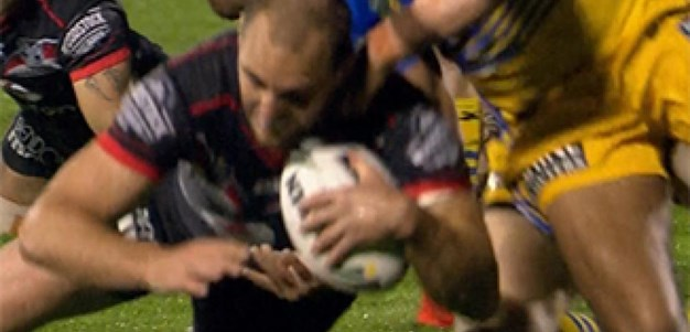 Full Match Replay: Warriors v Parramatta Eels (1st Half) - Round 26, 2016