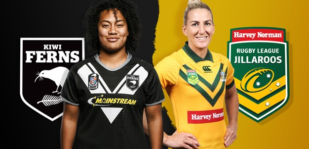 Match preview: Kiwi Ferns v Jillaroos, 2018