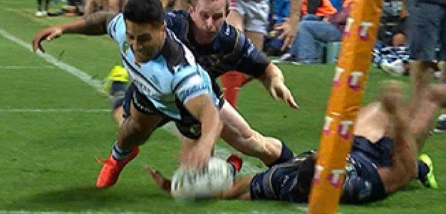 Full Match Replay: Cronulla-Sutherland Sharks v North Queensland Cowboys (1st Half) - Preliminary Final, 2016