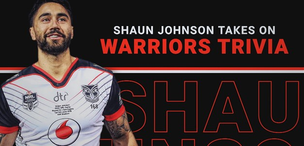 Shaun Johnson takes on Warriors trivia