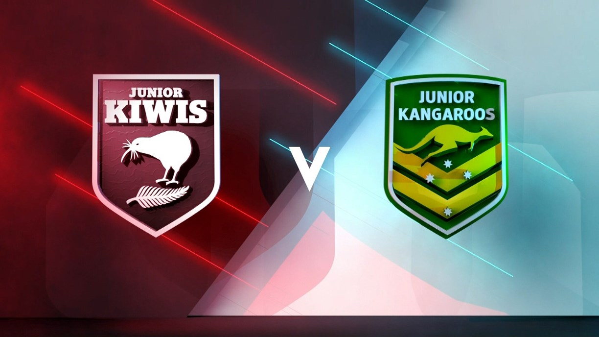 Full Match Replay: Junior Kiwis v Junior Kangaroos - Round 1, 2018