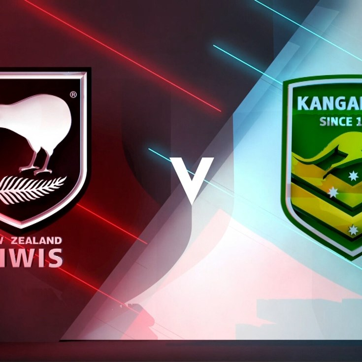 Full Match Replay: Kiwis v Kangaroos - Round 1, 2018