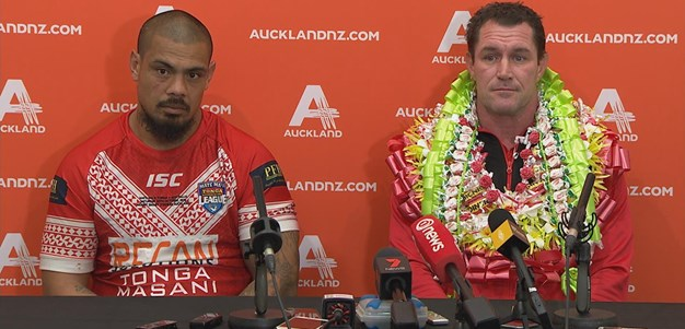 Mate Ma'a Tonga press conference