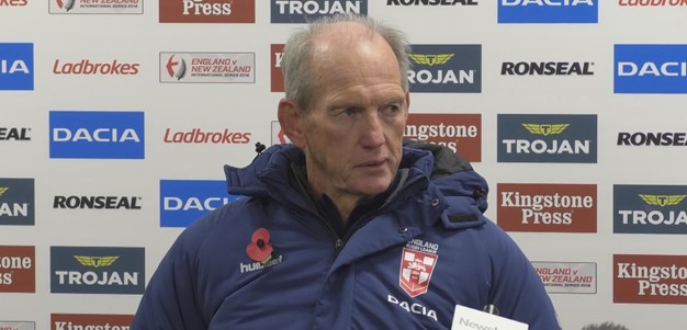 England press conference - first Test