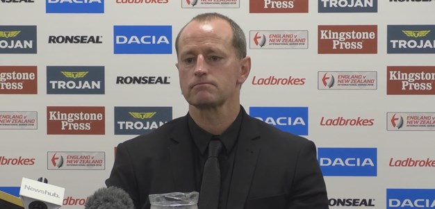 Kiwis press conference - First Test, 2018