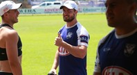 Lewis impressed by Foran's work ethic