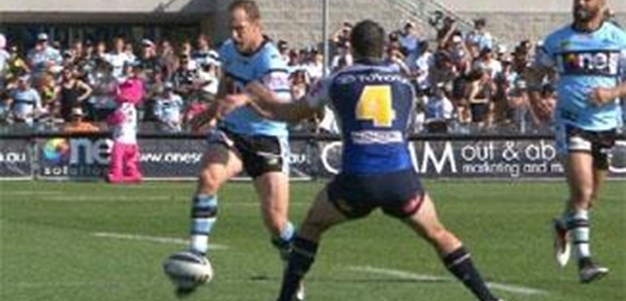 Full Match Replay: Cronulla-Sutherland Sharks v North Queensland Cowboys (1st Half) - Round 25, 2013