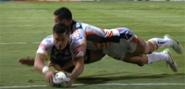 Full Match Replay: North Queensland Cowboys v Wests Tigers (1st Half) - Round 26, 2013