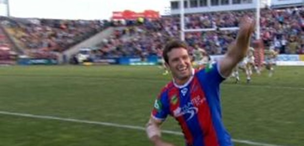 Full Match Replay: Newcastle Knights v Parramatta Eels (2nd Half) - Round 26, 2013