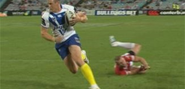 Full Match Replay: Canterbury-Bankstown Bulldogs v St George-Illawarra Dragons (1st Half) - Round 2, 2012