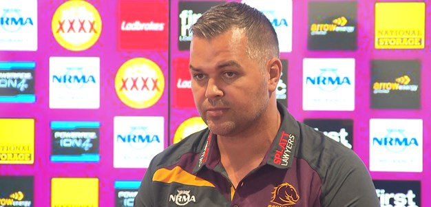 Seibold's first day at Brisbane