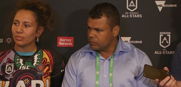 Press Conference: Indigenous All Stars Women
