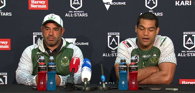 Press Conference: NZ Maori All Stars