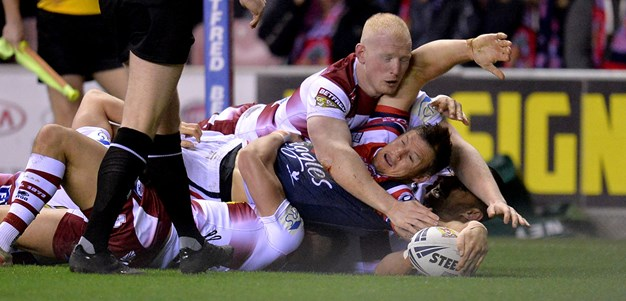 Match Highlights: Wigan Warriors v Sydney Roosters
