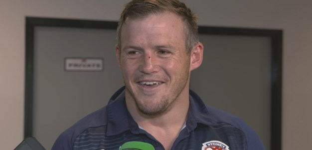 Morris reflects on dream debut for Roosters