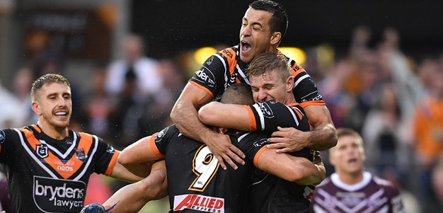 Extended Highlights: Wests Tigers v Sea Eagles