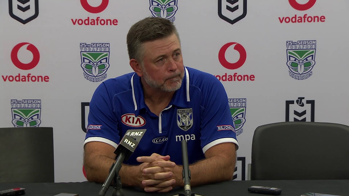 Canterbury-Bankstown Bulldogs: Round 1