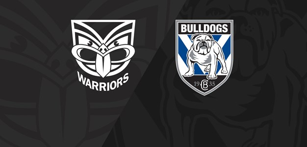 Full Match Replay: Warriors v Bulldogs - Round 1, 2019