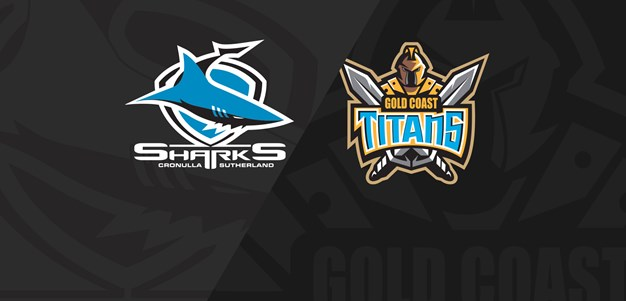 Full Match Replay: Sharks v Titans - Round 2, 2019