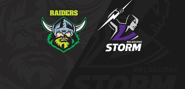 Full Match Replay: Raiders v Storm - Round 2, 2019